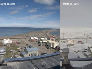 Barrow is a land of weather extremes (Credit: University of Alaska/Fishel)