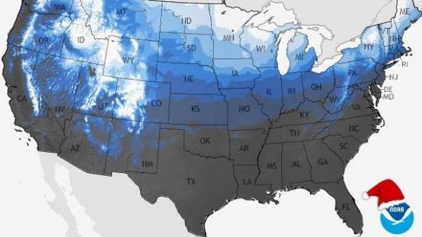NCDC White Christmas Probability