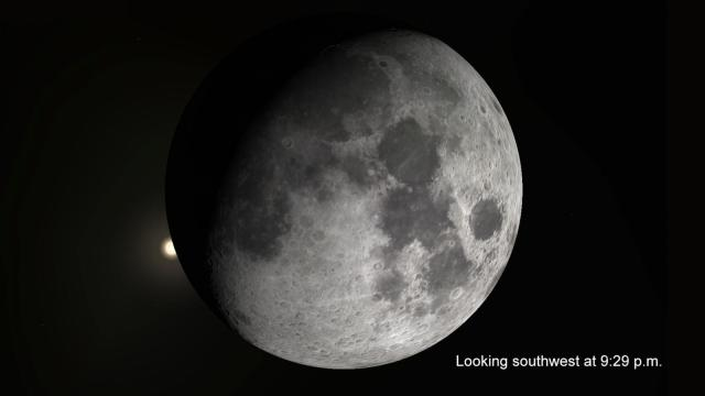 There are two astronomical events this week worth braving the cold to see.