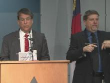 McCrory announces winter weather preparations