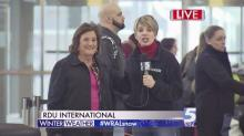 Winter weather creates extra stress at RDU