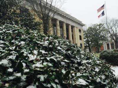 Snow in Johnston County