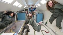 IMAGES: OK Go's anti-gravity video a creative use of zero G flight