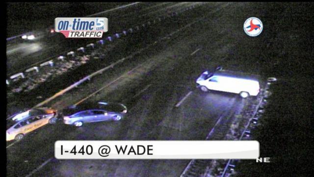 Wreck shuts down I-440