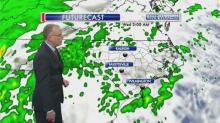 IMAGES: Mike Maze tracks the timing of Wednesday's storm