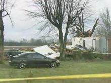 Tornadoes leave behind damage near Oxford