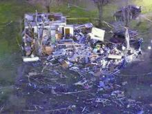 Homes destroyed, trees snapped in Oxford