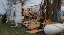 IMAGES: Severe storms rip through Oxford