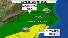 IMAGES: Severe weather possible Friday evening; sun returns over weekend