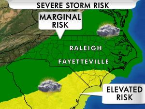 Severe storm risk for April 1, 2016