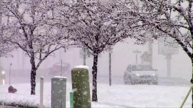 An April snow storm has swept across the upper midwest and the northeast, tearing down trees and power lines, bringing high wind and unseasonably cold temperatures. Forecasters say there is more cold weather on the way.