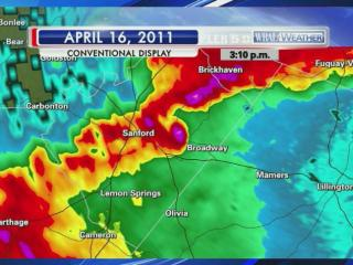 WRAL viewers are used to seeing the Dual Doppler during the weather forecast, but the technology was fairly new when a tornado ripped through the area on April 16, 2011.