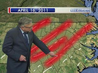 Thirty tornadoes devastated the state on April 16, 2011, but WRAL Chief Meteorologist Greg Fishel said the event was an example of how only a few thunderstorm cells can create a large number of tornadoes.