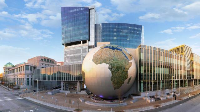 The 72-foot-tall Daily Planet has become an icon for the NC Museum of Natural Sciences (Image: NCMNS/NCDNR)