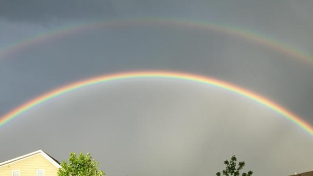 Rainbow in Apex