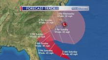 IMAGES: Fishel: Track of tropical depression 'complex'