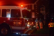 Lightning sparked a fire at 119 Draymore Way in Cary on Wednesday, June 15, 2016. First responders at the scene say everyone got out safe, but the house is a total loss.