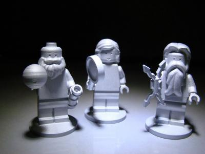 NASA mini LEGO figurines