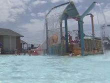 Fayetteville residents stay inside, hit the pool to cool off