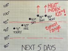 Weekend weather will be hottest yet of 2016