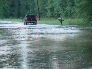 Flooding on Old Beulah Road in Selma