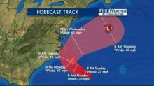 IMAGES: 2 tropical depressions could bring rain to North Carolina
