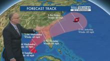 IMAGES: Tropical storm warning issued for Outer Banks; 2nd storm moves in later this week