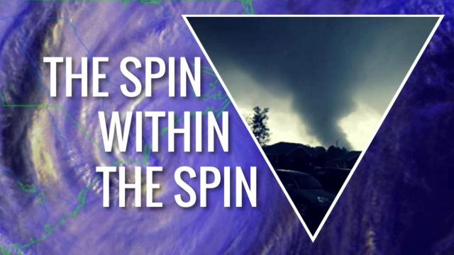 Tropical tornadoes: The spin within