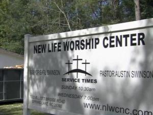 A group gathers every week as the New Life Worship Church but this Sunday, some things were just not the same. The group now has a temporary church at Anderson Creek Christian Church after floods damage forced church members out of the building.