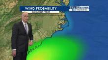Maze: 'Slim chance' of hurricane force winds in NC