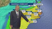 Shifts could change rainfall totals from Hurricane Matthew