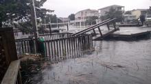 IMAGES: Hurricane damage on the NC coast