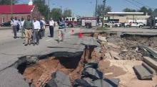 Gov. McCrory surveys damage from Hurricane Matthew in Fayetteville