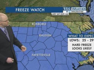 Freeze watch, Nov. 12, 2016
