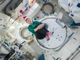 Christmas aboard the ISS