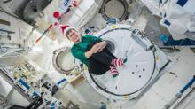 IMAGES: Astronauts celebrate Christmas aboard the ISS