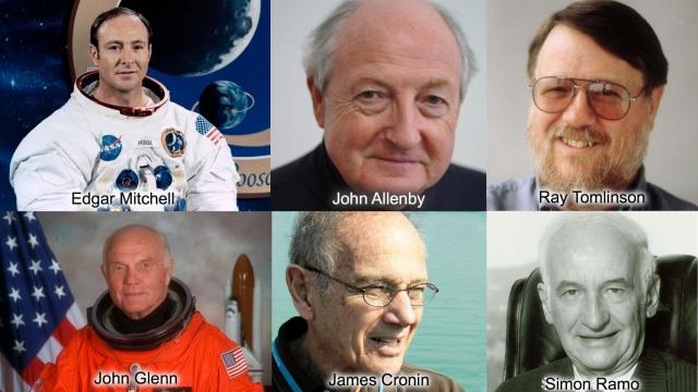 Astronomy and space pioneers lost in 2016 (Credit, NASA, Peter Ellenby, Raytheon, Markus Possel, NSF)