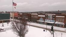 Roxboro is under blanket of snow