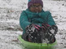 Raw: Little snow, big fun in Clayton