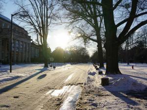 Snow in Chapel Hill