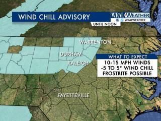 Wind Chill Advisory