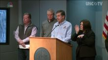 Gov. Cooper updates road conditions, snow cleanup