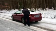 Travel remains risky on secondary roads