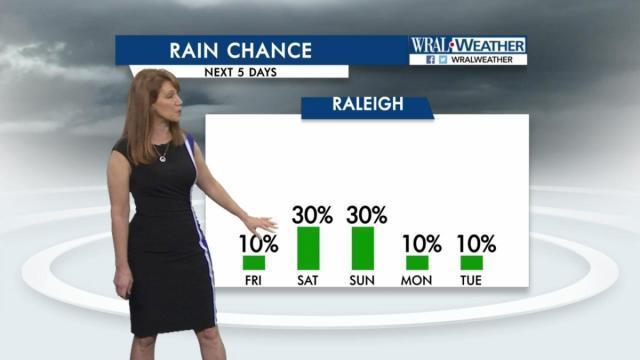 Rain chance, Jan. 13, 2016