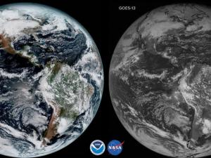 GOES-16 images