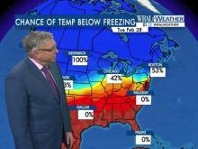 Fishel: Odds of below-freezing days slim