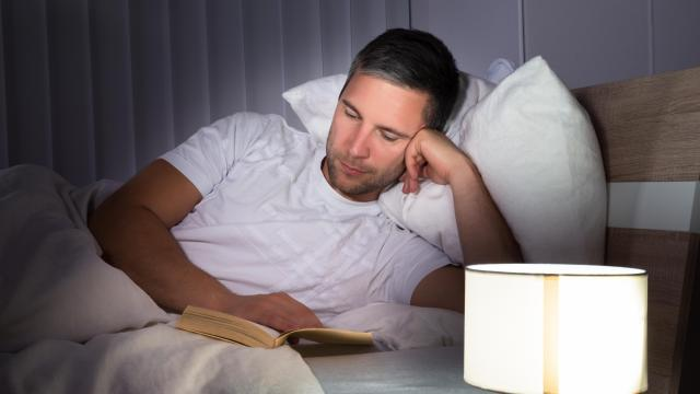 When daylight saving time forces us to set clocks an hour ahead, losing sleep is inevitable. But it doesn't mean adjusting is impossible. WebMD suggests putting away electronics and reading a non-suspenseful book before bed as a couple ways to adjust to the time difference. (Deseret Photo)