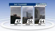 IMAGES: Drier, warmer Sunday to follow stormy Saturday