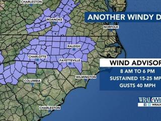 Wind advisory, Friday, April 7, 2017
