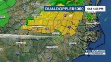 IMAGES: Severe Thunderstorm Watch issued in 13 central NC counties